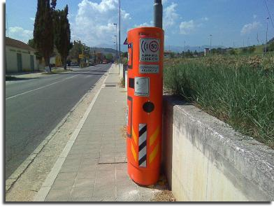 speed check camera italy