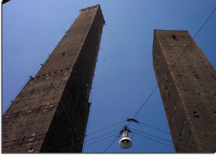 twin towers bologna emilia romana