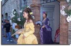 mogliano, le marche, historical dress