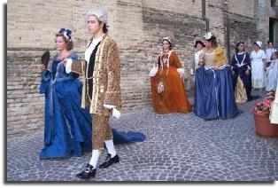 mogliano re-enactment 1744 austrian